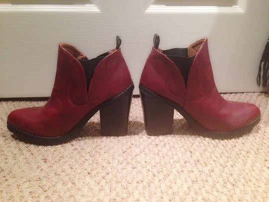 Deena & Ozzy Red Boots