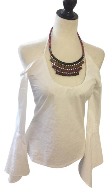 Maurie & Eve White Blouse Size 2 (XS) Maurie & Eve White Blouse Size 2 (XS) Image 1