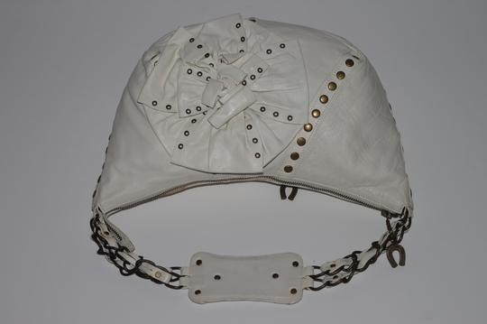 Betsey Johnson Studded Leather Shoulder Bag Image 10