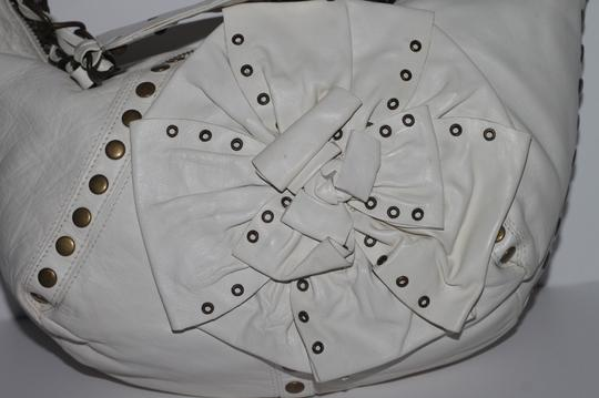 Betsey Johnson Studded Leather Shoulder Bag Image 4