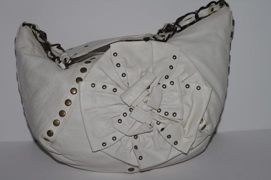 Betsey Johnson Studded Leather Shoulder Bag Image 5