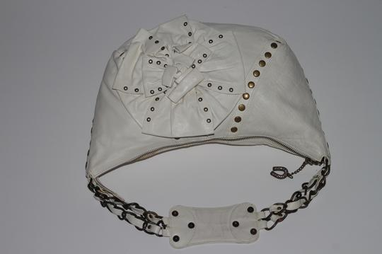 Betsey Johnson Studded Leather Shoulder Bag Image 7
