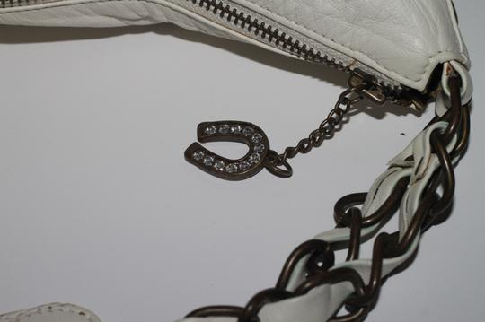 Betsey Johnson Studded Leather Shoulder Bag Image 8