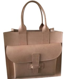 Agnes Baddoo Tote in Natural cow