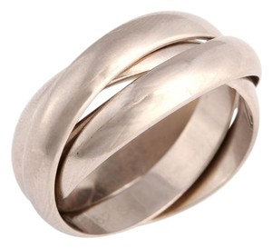 Cartier White Gold 18K Trinity Ring