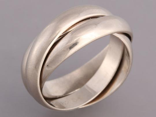 Cartier White Gold 18K Trinity Ring Image 2