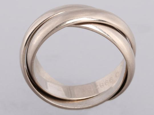 Cartier White Gold 18K Trinity Ring Image 3