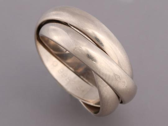 Cartier White Gold 18K Trinity Ring Image 4