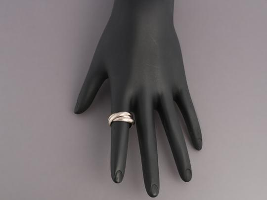Cartier White Gold 18K Trinity Ring Image 7