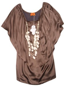 Voom by Joy Han short dress Olive Tube Off The Shoulder Necklace Overlay Piper on Tradesy