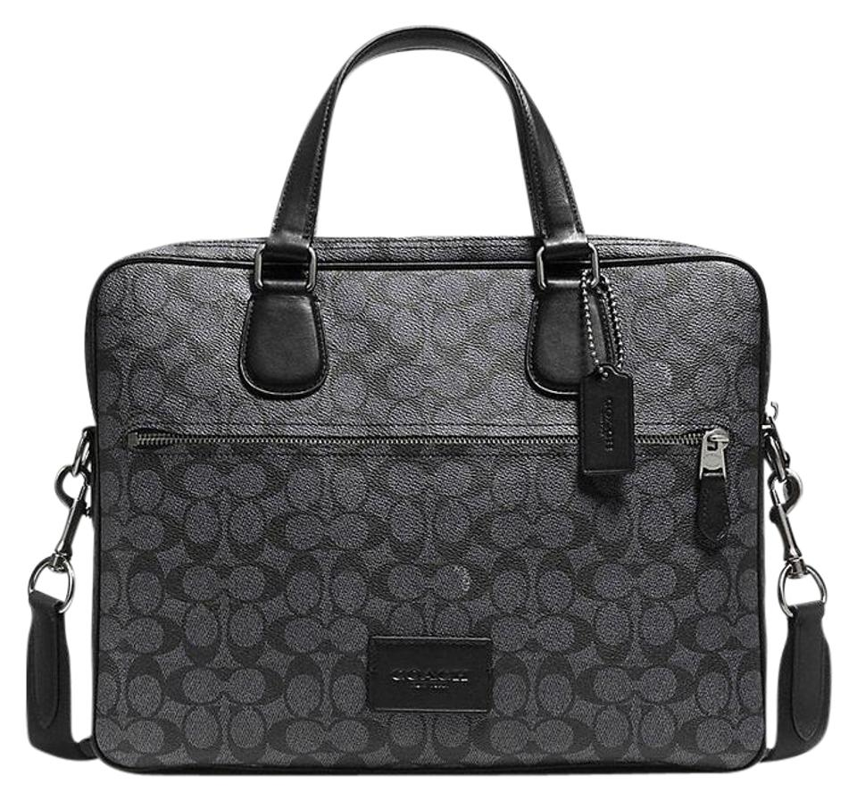 Coach Monogram Signature Men s Briefcase Women Briefcase Classy Laptop Bag  Image 0 ... 972537aeb3c72