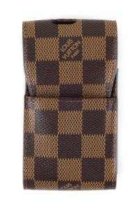 Louis Vuitton Louis Vuitton Brown Damier Phone Case