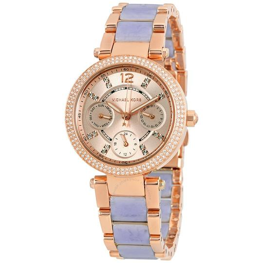 Preload https://img-static.tradesy.com/item/21991182/michael-kors-rose-gold-in-the-box-women-s-mk6327-watch-0-0-540-540.jpg
