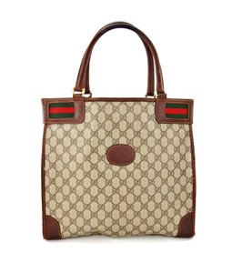 649a357ace893 Gucci Gg Vintage Shopper Guccissima Tote in Brown