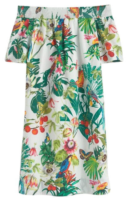Item - Patterned/Multi F1959/ Ratti Into The Wild Mid-length Short Casual Dress Size 00 (XXS)