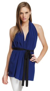 Robert Rodriguez Couture Ocean Blue Halter Top