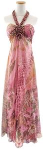 Mikael Aghal Evening Gown Beaded Dress