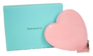 Tiffany & Co. Authentic New Tiffany & Co. Pink Heart Shaped Coin Purse