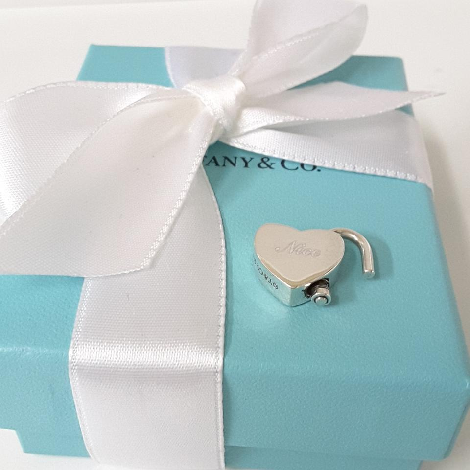 Tiffany & Co. White Red and Silver Co \