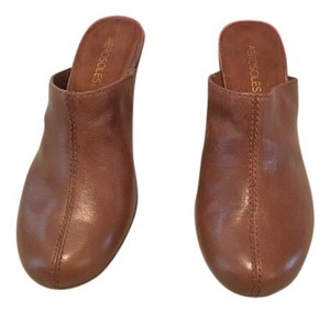 Aerosoles / Leather Leather Womans Brown Mules