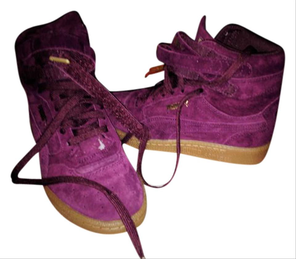 Puma Us Purple Size 7 High Sneakers RegularmB Tops Contact thosBQrxCd