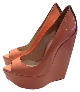 Ruthie Davis Orange Fizz Wedges