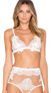 For Love & Lemons NWT For Love & Lemons Flower Blossoms Bralette White