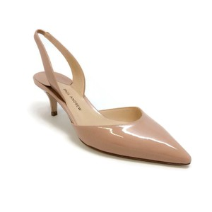 Paul Andrew Nude Patent Pumps