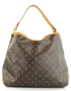 Louis Vuitton Leather Shoulder Luxury European Hobo Bag
