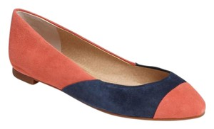 Splendid Color-blocking Peach/Blue Flats