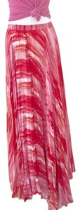 Alice + Olivia Maxi Skirt Red, Pink, White