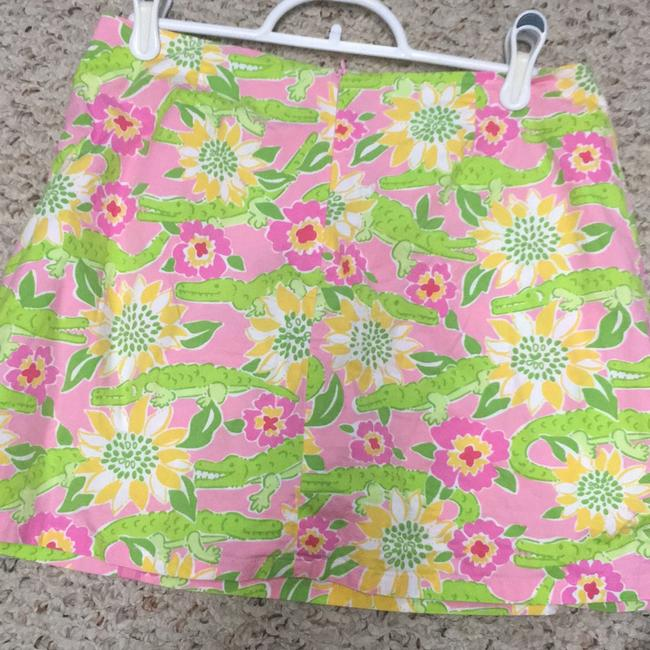 Lilly Pulitzer Skirt alligator print