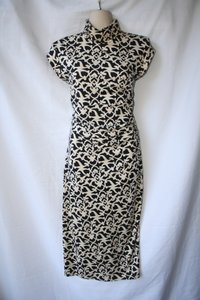 Diane von Furstenberg short dress Black Taupe Dvf Vanari on Tradesy