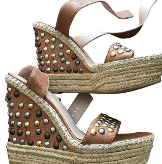 Preload https://img-static.tradesy.com/item/21995246/stuart-weitzman-tan-with-pewter-and-gold-accessories-wedges-size-us-10-regular-m-b-0-1-540-540.jpg
