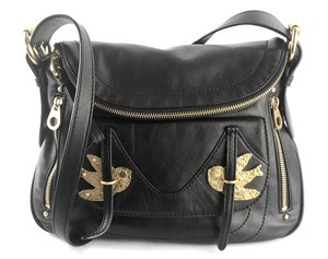 Marc by Marc Jacobs Cult Rare Leather Bird Gold Hardware Cross Body Bag