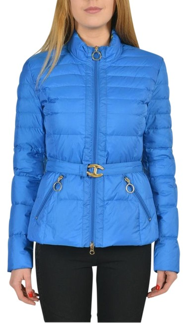 Preload https://img-static.tradesy.com/item/21995604/just-cavalli-blue-bright-full-zip-belted-duck-down-basic-size-4-s-0-1-650-650.jpg