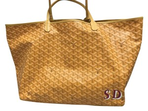 Goyard St. Louis Gm Tote in Yellow