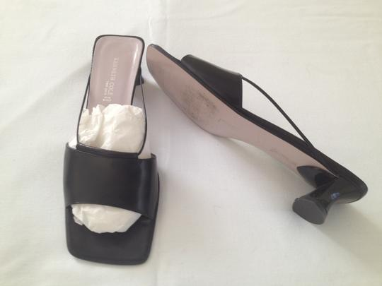 Kenneth Cole Black Mules
