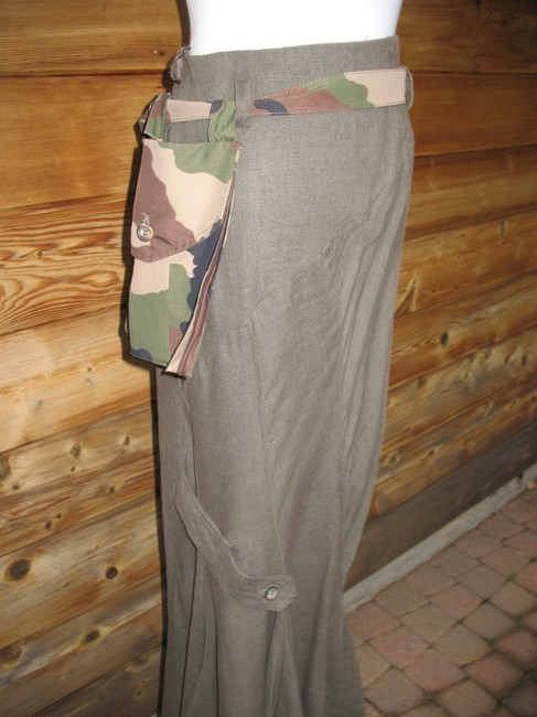 Ivan Grundahl Maxi Skirt Army Green