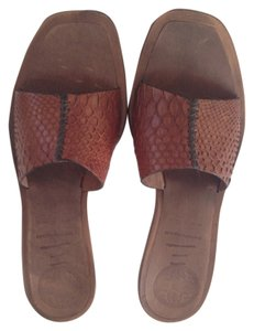 Panetulipani Brown Mules