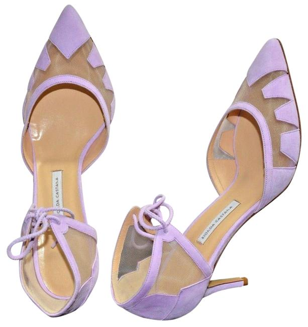 Item - Lilac Box Alexa Pink Suede Mesh 39.5/8.5 New Pumps Size EU 39.5 (Approx. US 9.5) Regular (M, B)