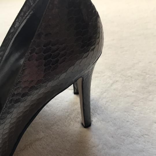 Enzo Angiolini Pewter Pumps