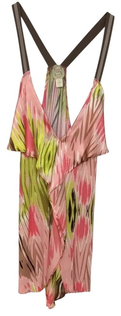 Preload https://img-static.tradesy.com/item/2199791/anthropologie-pink-and-green-tank-topcami-size-4-s-0-0-650-650.jpg