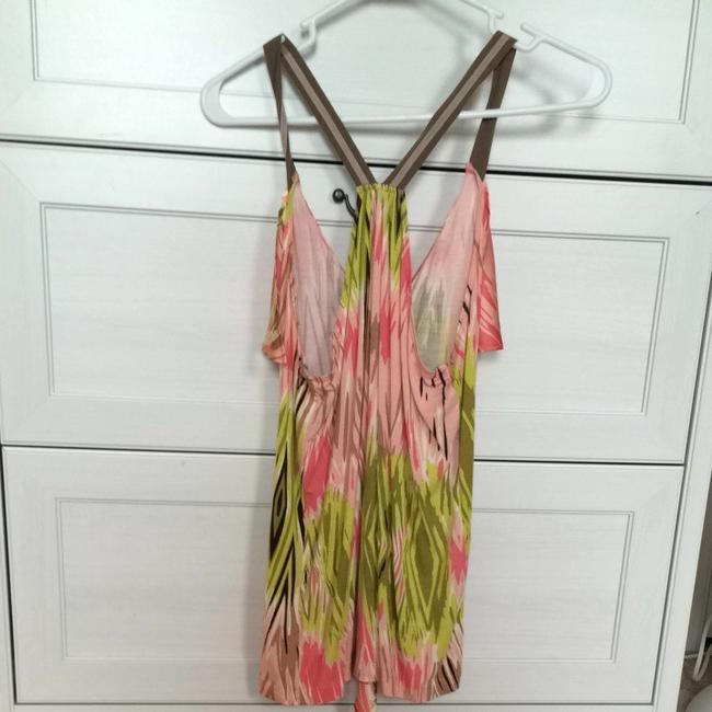 Anthropologie Top Pink And Green Image 2