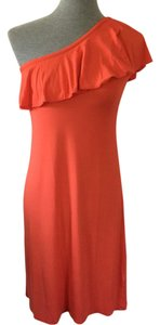 Premise short dress Coral on Tradesy