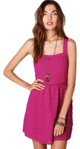 Free People Mini Summer Pink Dress