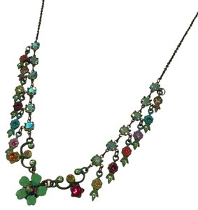 Michal Negrin Flower Jewel Necklace