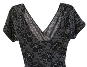 Hot Topic The Perfect Cut Out In Comfy Material Lace Pattern Unique Dress