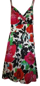 Snap short dress Floral Junior Size 13 Fully Lined Lovely Details Trendy Print Well Made on Tradesy