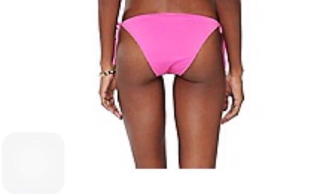 Juicy Couture JUICY COUTURE BIKINI BOTTOM FLIRT String Medium Pink Y52176 NWT $ 80